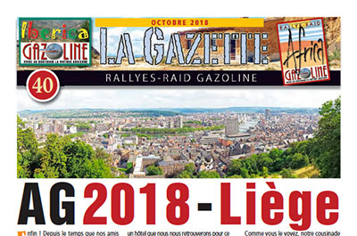 Gazette 40 - Octobre 2018